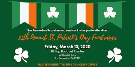 25th Annual St. Patrick's Day Dinner and Auction Fundraiser tickets