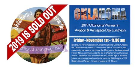 2019 OK Women in Aviation and Aerospace Day Luncheon tickets