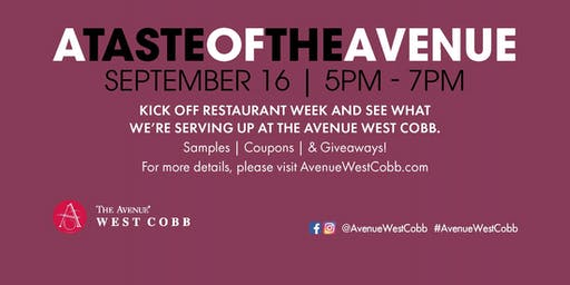 A Taste of The Avenue