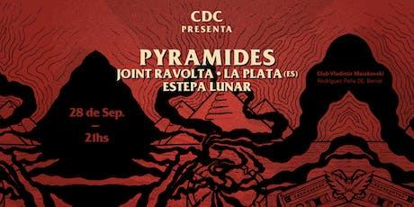 CDC presenta: Pyramides en Quilmes entradas
