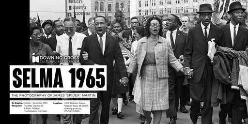 Selma 1965 - Art Gallery Exhibit Reception