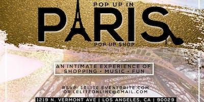 """L'elite presents """"Pop Up In Paris"""" Pop Up Shop"""
