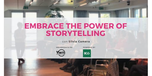 Embrace the power of storytelling