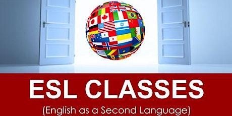 ESL Classes (Men & Women) English as a Second Language tickets