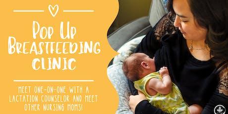 Pop Up Breastfeeding Clinic! tickets