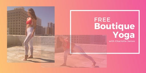 FREE Yoga at the Boutique