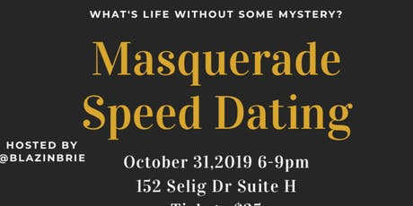 Masquerade Speed dating tickets