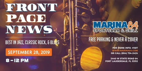 Front Page News Best in Jazz, Classic Rock, & Blues tickets