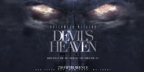Devil's Heaven Halloween Party @ 230 Fifth  tickets