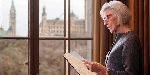 Beverley McLachlin at UTM September 24