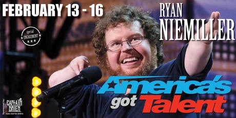 Ryan Niemiller AGT star comedian this season Live In Naples, FL Off the hook comedy club tickets
