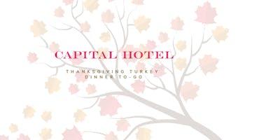 Thanksgiving Turkey-To-Go Dinner