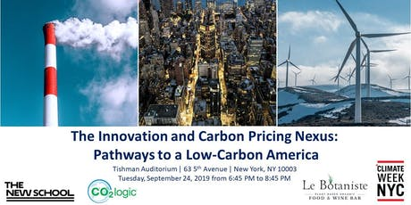 The Innovation and Carbon Pricing Nexus: Pathways to a Low-Carbon America tickets