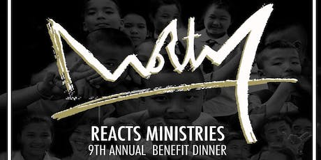 "2019 RE:ACTS Ministries Benefit Dinner ""Worthy"" tickets"