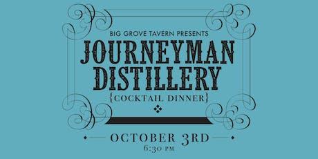 Journeyman Distillery Dinner tickets
