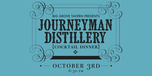 Journeyman Distillery Dinner