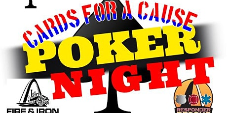 Cards for a Cause Poker Night for Responder Rescue; January 24, 2020 tickets