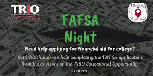 FAFSA Assistance Workshop