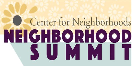 2019 Neighborhood Summit tickets