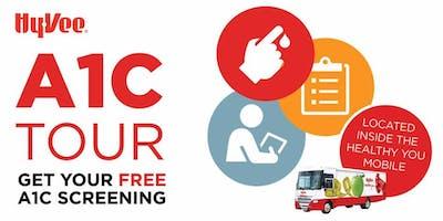 Hy-Vee FREE Hemoglobin A1C Screening