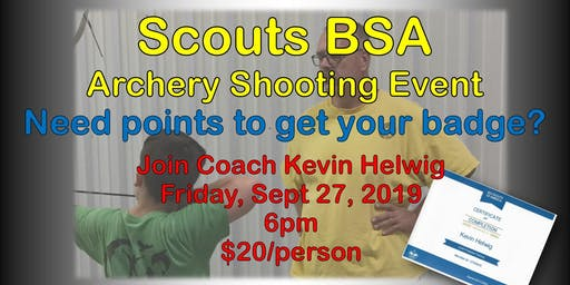 Scouts BSA Shooting Event