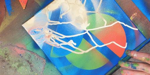 Tijuana street art trek + 'mini mural' workshop with Clos