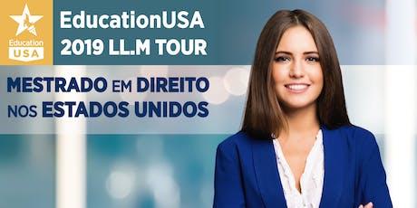 EducationUSA LL.M Tour - Brasília ingressos