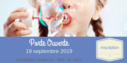 Porte Ouverte : installation bellevue // 19 septembre