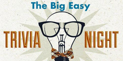 Wednesday Trivia Night at The Big Easy with Willie Wright
