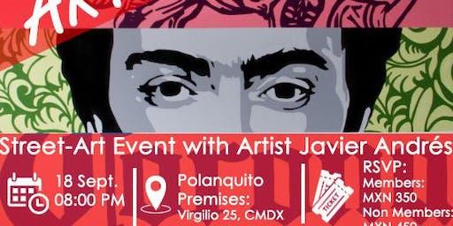 Mexican Street-Art Event @ Carré d'artistes