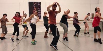 LINES Ballet Hip Hop Workshop at Grace Cathedral