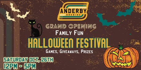 Anderby Brewing's Spooktacular Festival! tickets
