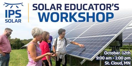 St. Cloud Area Solar Educator's Workshop tickets
