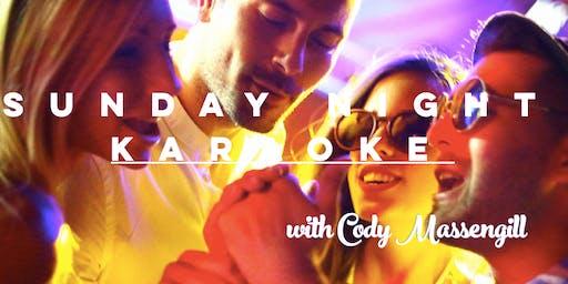 Sunday Night Karaoke at The Big Easy NC with Cody Massengill