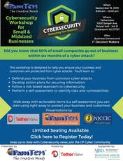Cybersecurity Workshop for Small and Medium size Businesses tickets