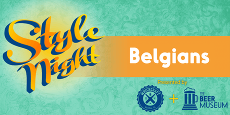 WhichCraft Style Night - Belgian Beers tickets