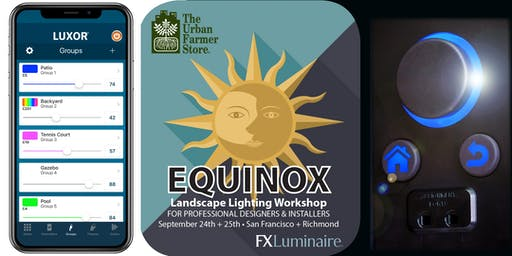 Equinox Landscape Lighting Workshop for Designers and Installers-Richmond