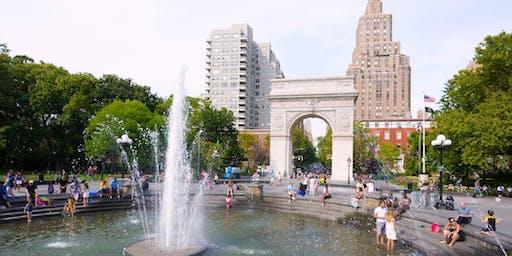 Mindfulness in America: Washington Square Park Meditation