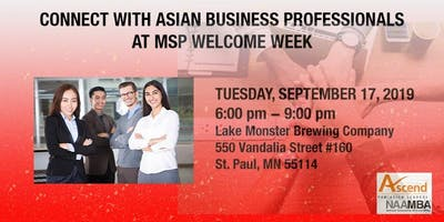 Connect with Asian Business Professionals at MSP Welcome Week