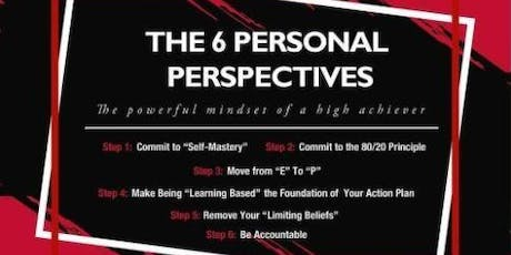 6 Personal Perspectives tickets