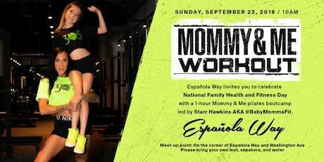 National Family Health w/ @Babymommafit FREE workout Espanola Way tickets