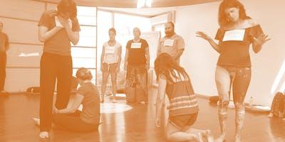 teatro da presença social no processo U - apoio ao u.lab1x