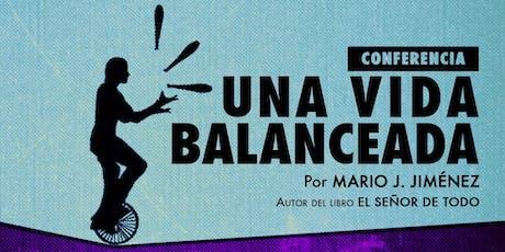 Conferencia Una Vida Balanceada entradas