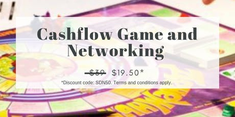 19 SEP: (50% OFF) CASHFLOW GAME AND NETWORKING tickets