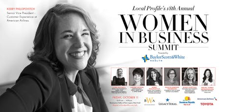 Local Profile's 18th Annual Women in Business Summit tickets