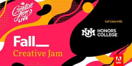 University of New Mexico + Adobe Creative Jam LIVE tickets