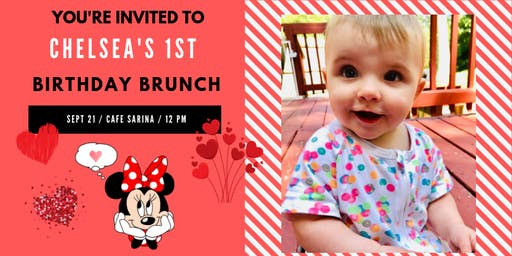 Chelsea's First Birthday Party