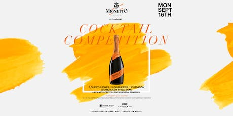 Mionetto Cocktail Competition @ThompsonToronto tickets