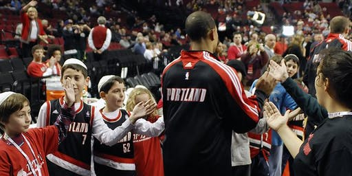 Chanukah Jewish Heritage Night with the Portland Trailblazers