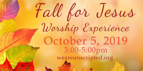 Fall for Jesus - A Worship Experience tickets